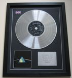 PINK FLOYD - The Dark Side Of The Moon CD / PLATINUM LP DISC